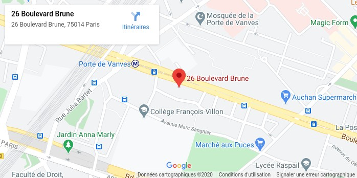 26 Boulevard Brune, 75014 Paris